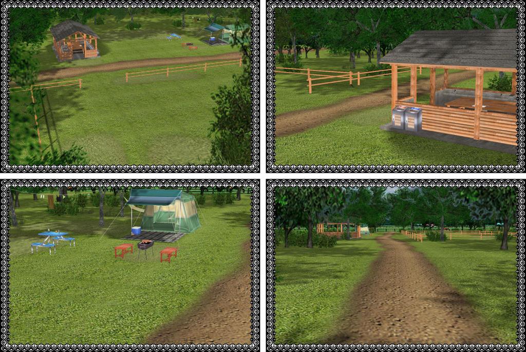 MMD Nature Camp Environment by arisumatio