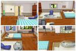 MMD Boy's Room - Otoko no Heya