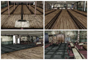 [MMD] Bowling Arena Silent Hill Stage