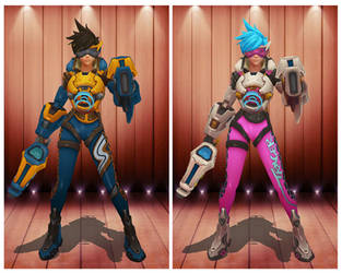 [MMD] HOTS Tracer Ultimate Skin by arisumatio