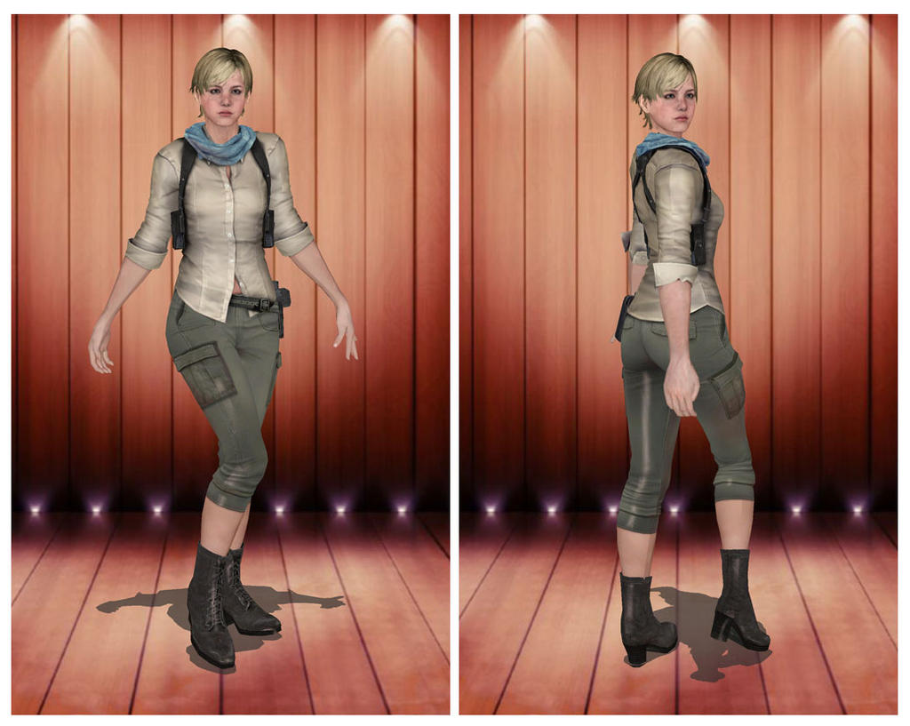 XPS - RE6 - Sherry Birkin Edonia Outfit by henryque999 on