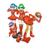 [MMD] PXY Team Flare Scientist