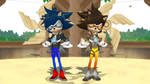 [MMD] Sonic x Tracer the Hedgehog