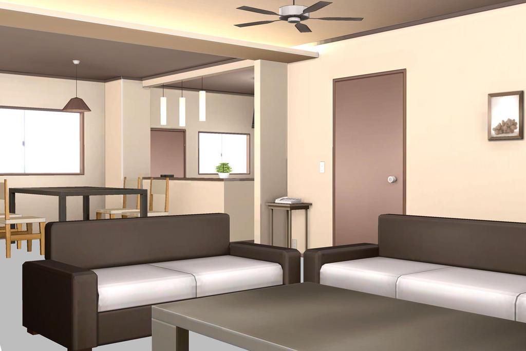 Mmd Living Room