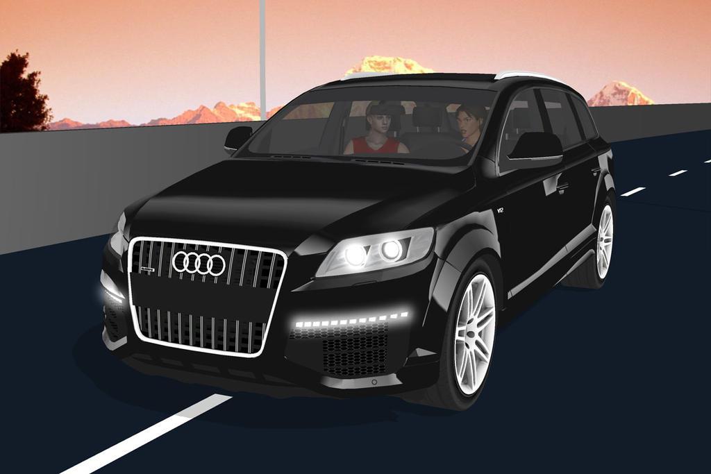 MMD Audi Q V TDI By Arisumatio On DeviantArt - Audi q7 v12