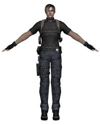 [MMD] RE4 Leon S. Kennedy Agent by arisumatio