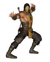 [MMD] MKX Scorpion Costume A