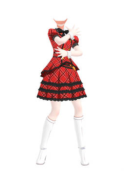 [MMD] Million Live! - Outfit 02