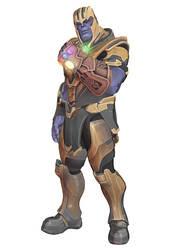 [MMD] Fortnite - Thanos by arisumatio