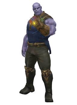 [MMD] MFF Thanos (Infinity Wars) by arisumatio