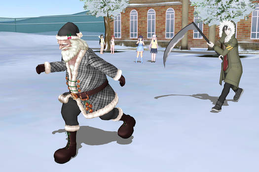 [MMD] Zack gonna kill Boss Santa