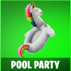 [MMD] Fortnite - Pool Party (Back Bling) by arisumatio