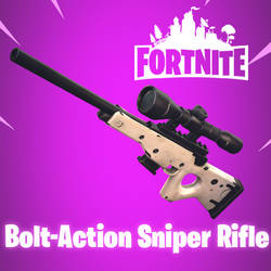 [MMD] Fortnite - Bolt-Action Sniper Rifle by arisumatio