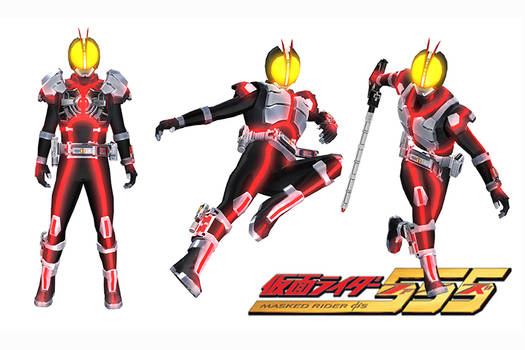 [MMD] Kamen Rider Faiz All Motions Ripped RAW