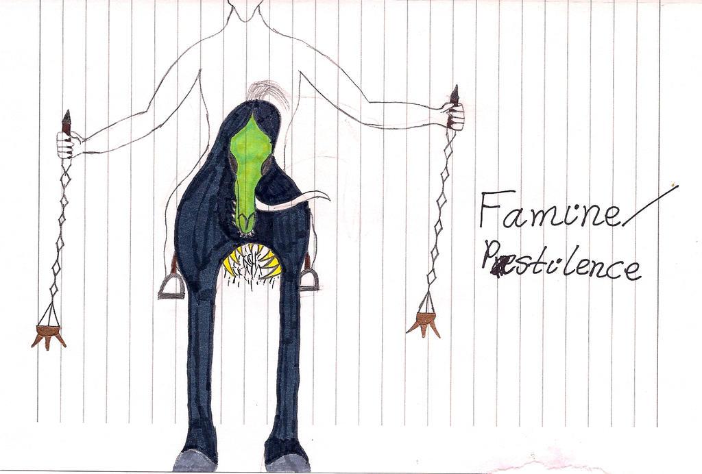 Horseman Famine/Pestilence by warnett