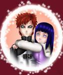 Commission - Gaara and Hinata