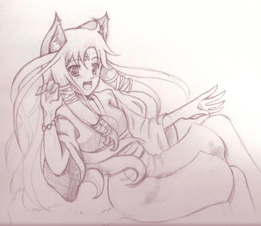 Foxy Hikari by sassie-kay