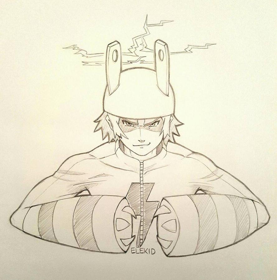 Pokemon Gijinka - Elekid by sassie-kay