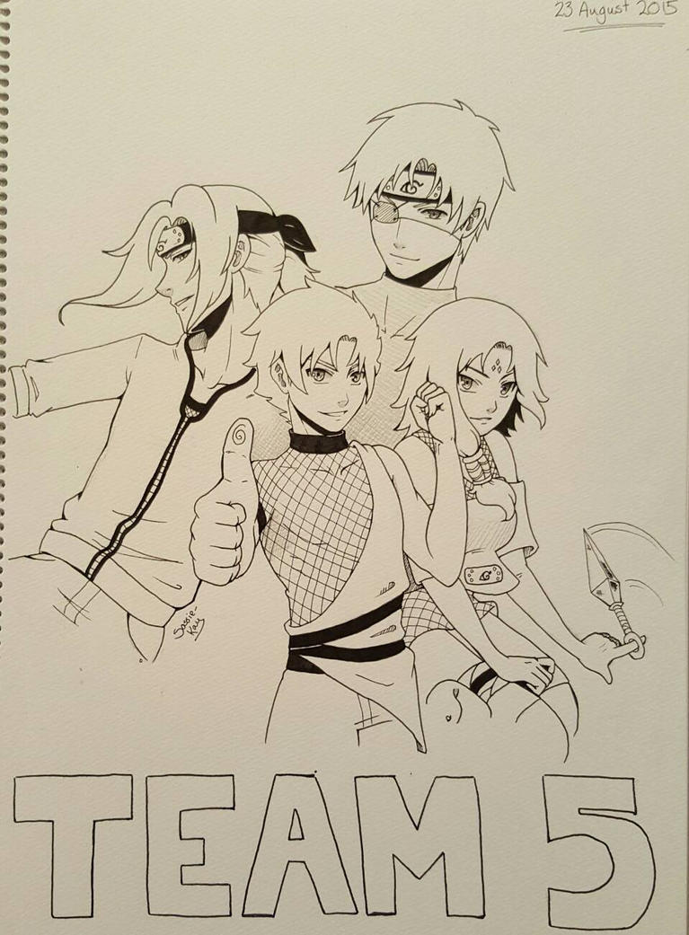 OC Team 5 by sassie-kay