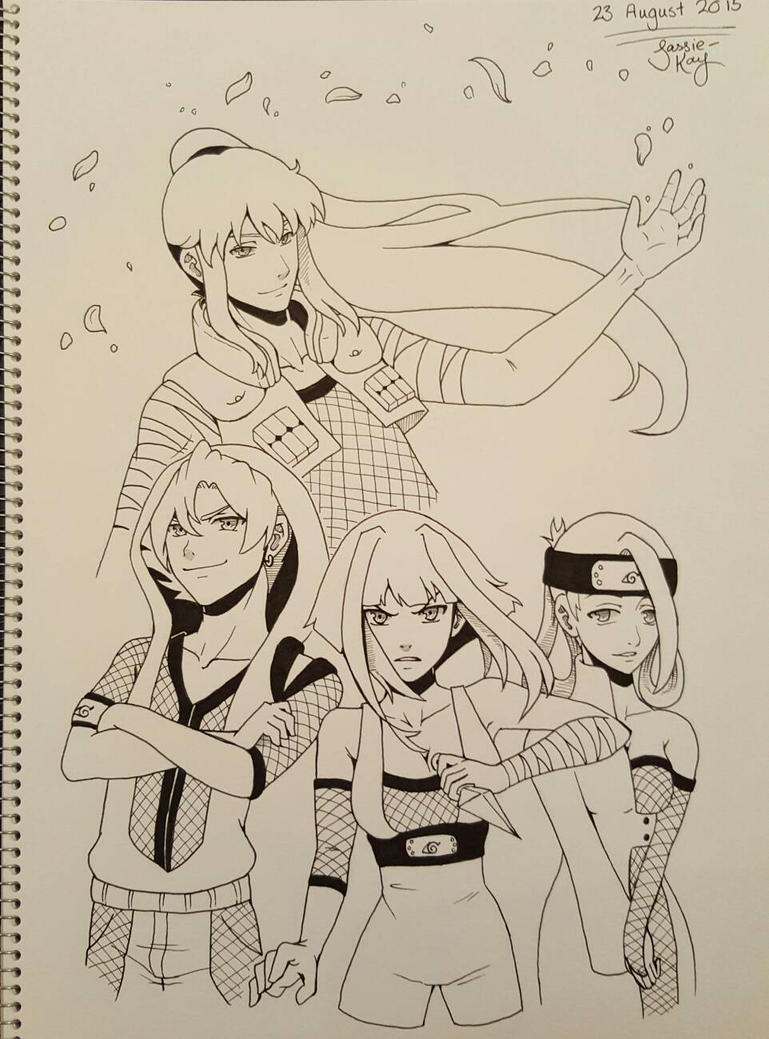 OC Team 6 by sassie-kay