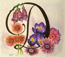 Watercolour Flowers by sassie-kay