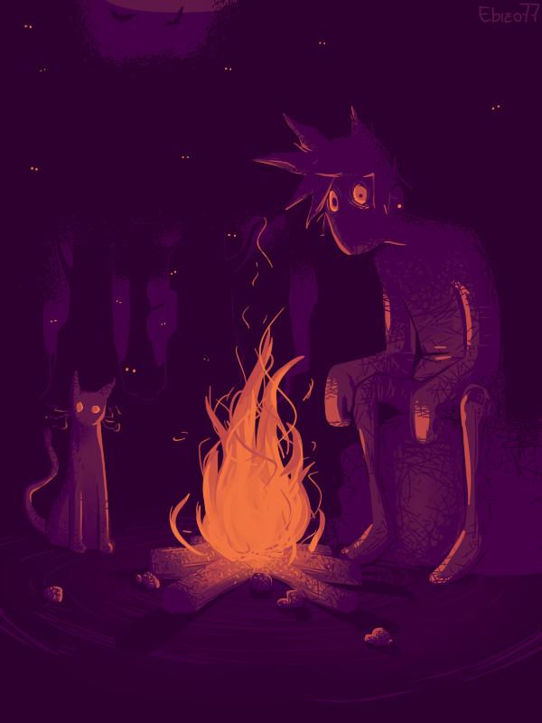 Forest (art-jam) by ebizo77