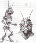 District 9 sketches