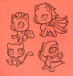 Littlest Pet shop Pokemon