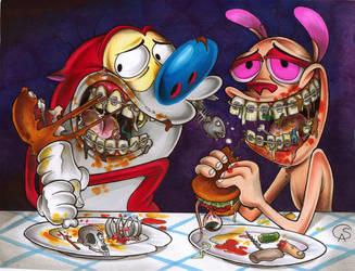 Dinner time by GantzAistar