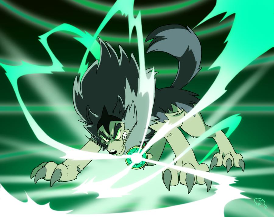 Merlock wolf transformation by GantzAistar