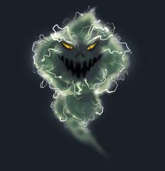 angry big cloud by GantzAistar