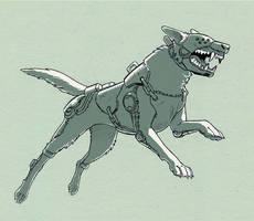 Notsofriendly doggo