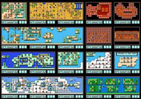 Super Mario Bros. 3 worldmap
