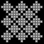 Tileable fractal pattern