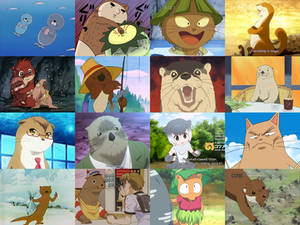 Otters in Anime
