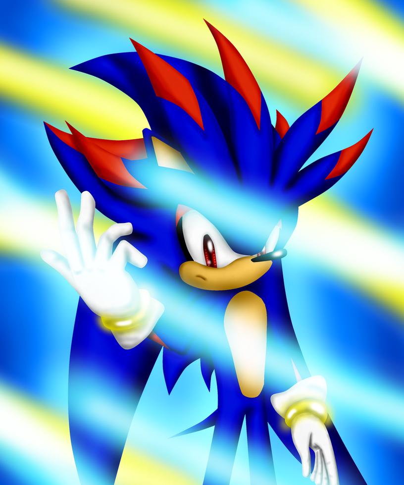 Encantador La Página Para Colorear Shadow The Hedgehog Regalo ...