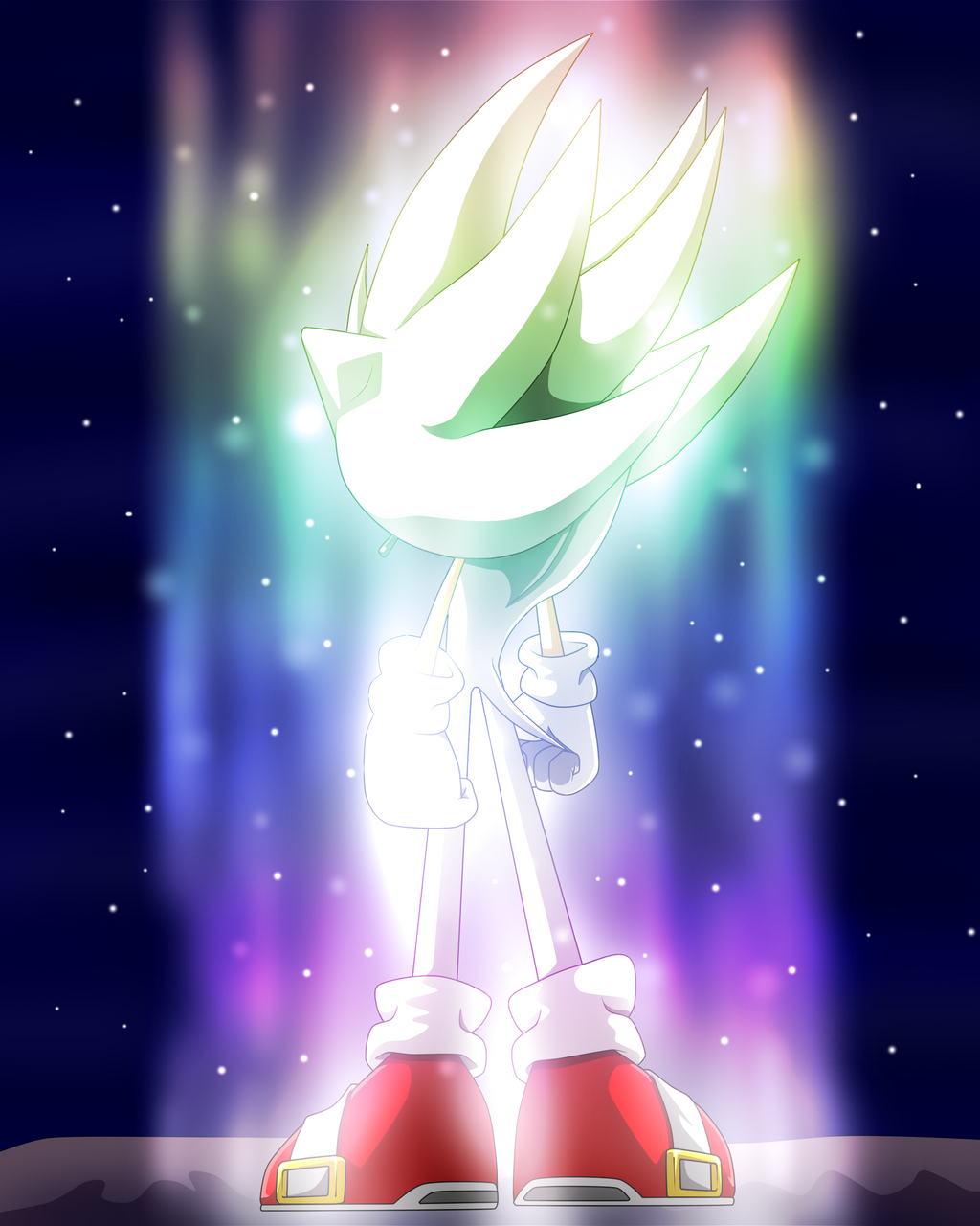 Hyper Sonic Volvere by japoloypaletin on DeviantArt
