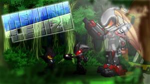 MDUE Wallpaper - Cronos VS GUN Bots