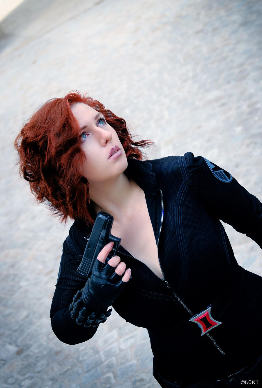 Black Widow - The Avengers by Mi-caw-ber