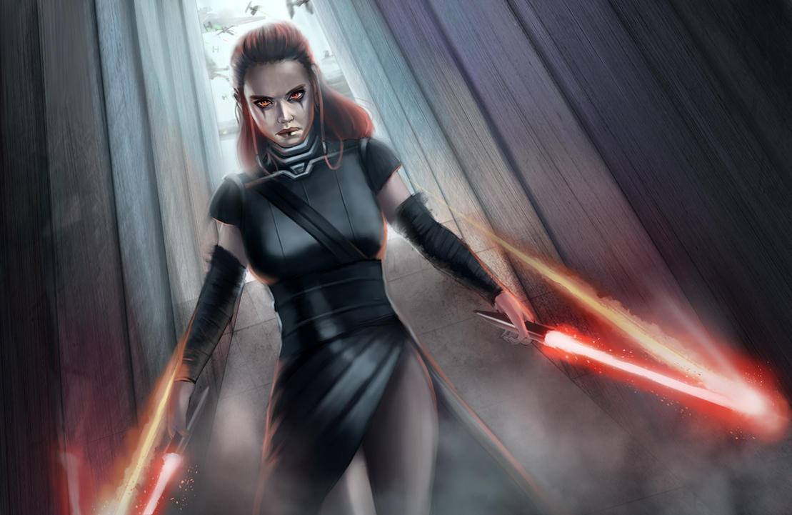 What if Rey was a Sith? by CleverBoi