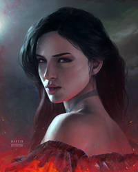 Yennefer by CleverBoi