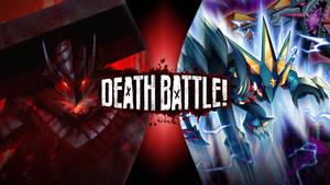 Guts Berserker Armor vs Megaman EXE GBeast Out