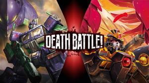 Optimus Prime Eva 01 vs Wing Gundam Zero Rebellion