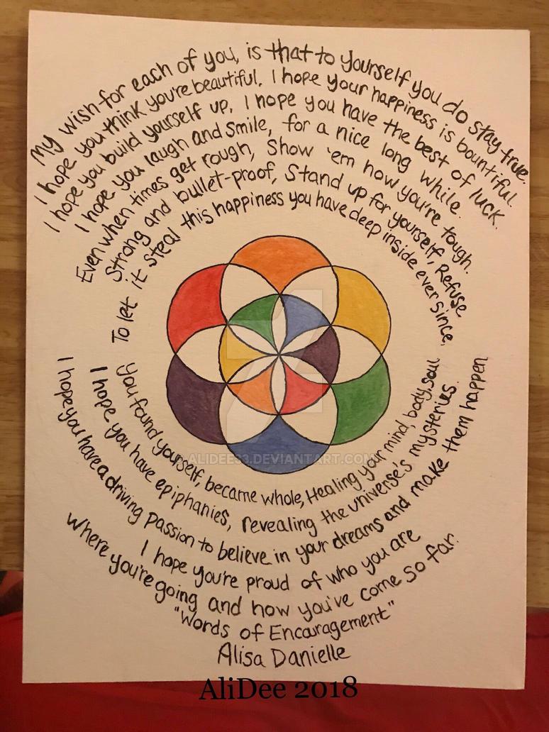 Words of Encouragement by AliDee33