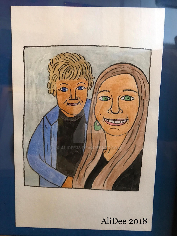 My Grandma and I by AliDee33