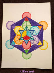 Merkabah in Markers by AliDee33