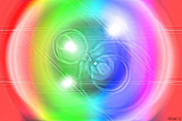 Rainbow Lens Flare by AliDee33