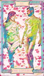 The Lovers Tarot by AliDee33