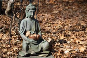 Small Buddha Statue by AliDee33