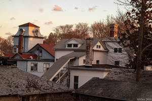 Rooftops and Chimneys by AliDee33